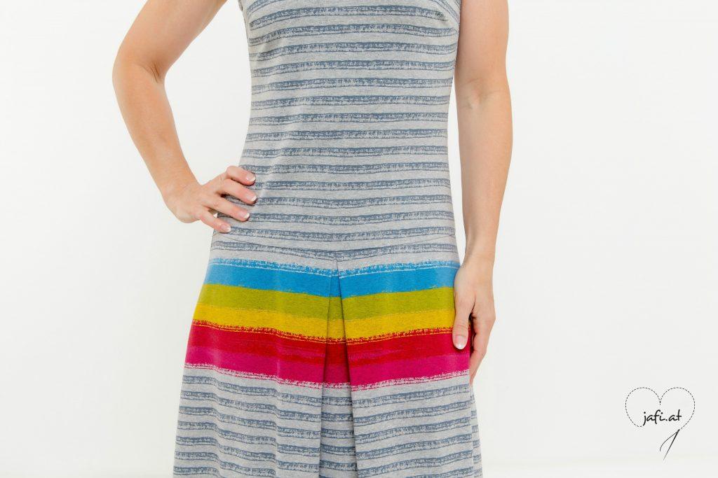 kleid kellerfalten schnittmuster